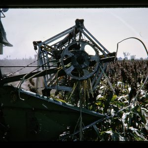 farm equipment in the field