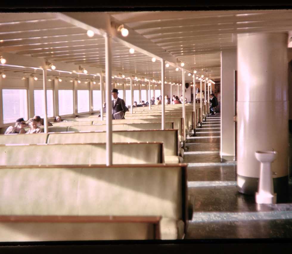 ferry boat interior