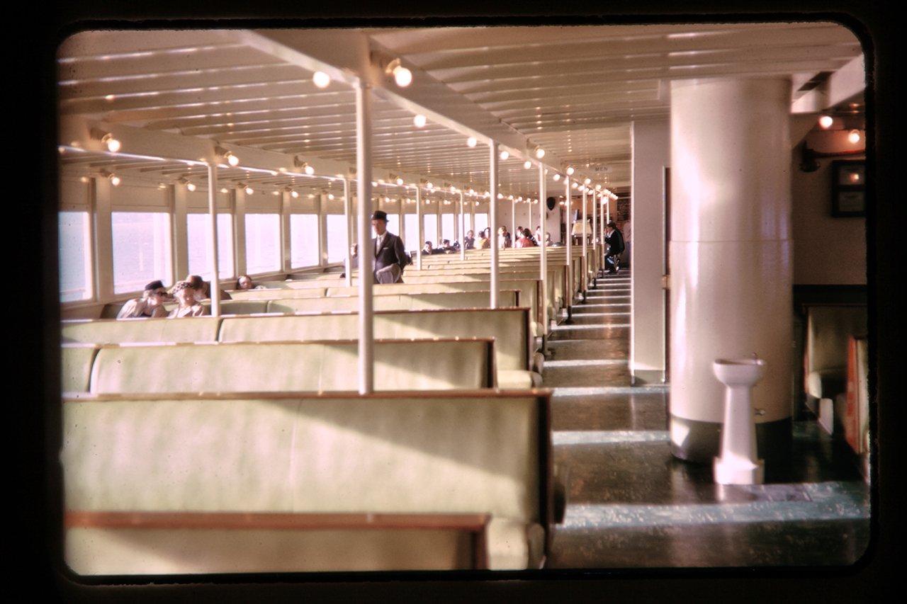 ferry boat interior