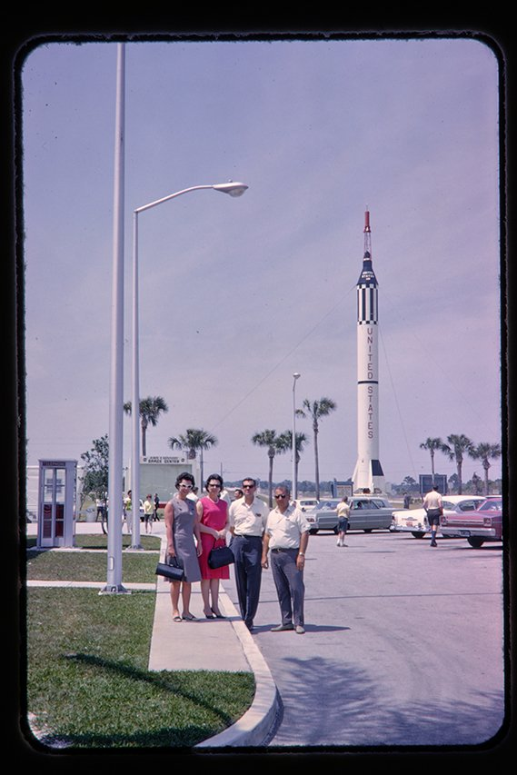 kennedy space center entrance