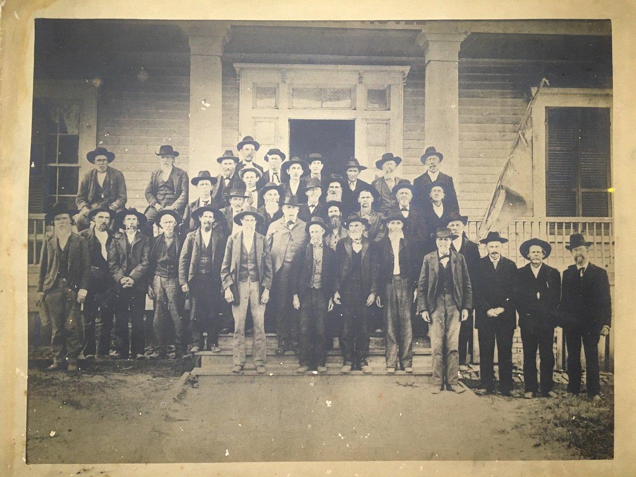 confederate army veterans