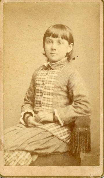 young girl portrait 1860s