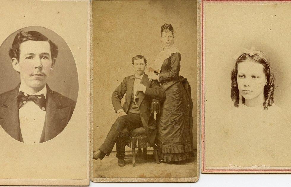 couple full length portrait 1880