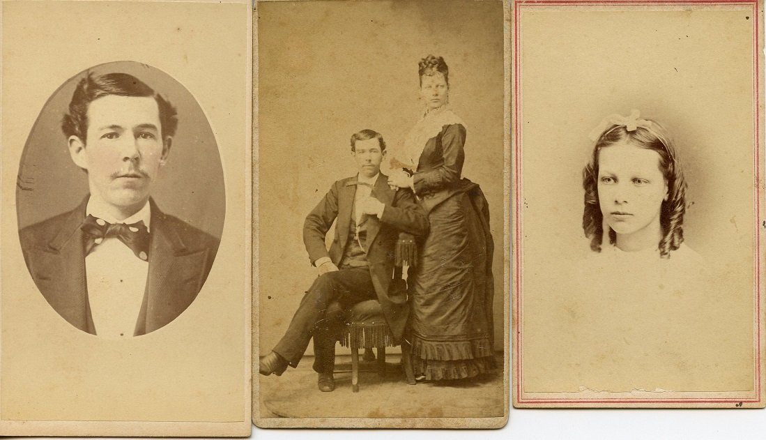 couple full length portrait 1880