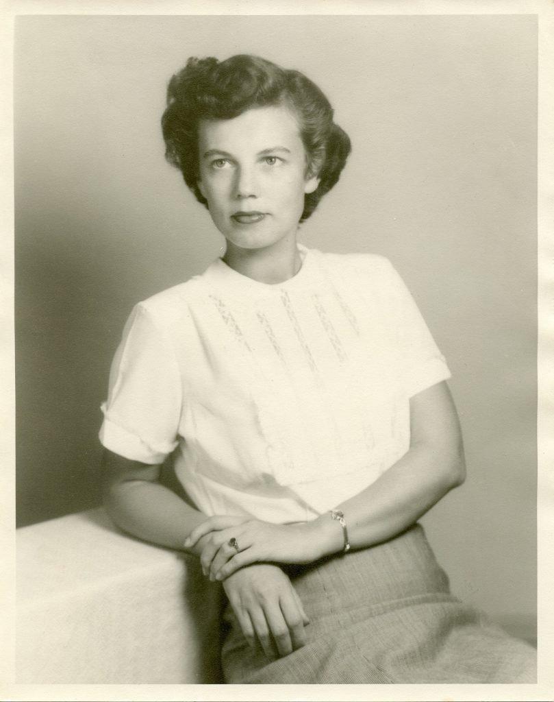 portrait of Ruby 1950