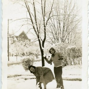 The Snowball fight 2; unidentified