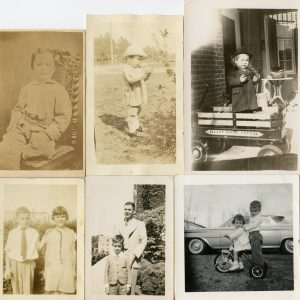 various pictures of children from 1800s and 1900s