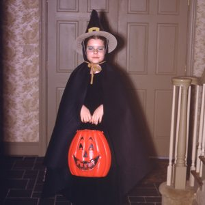 Halloween witch 1970