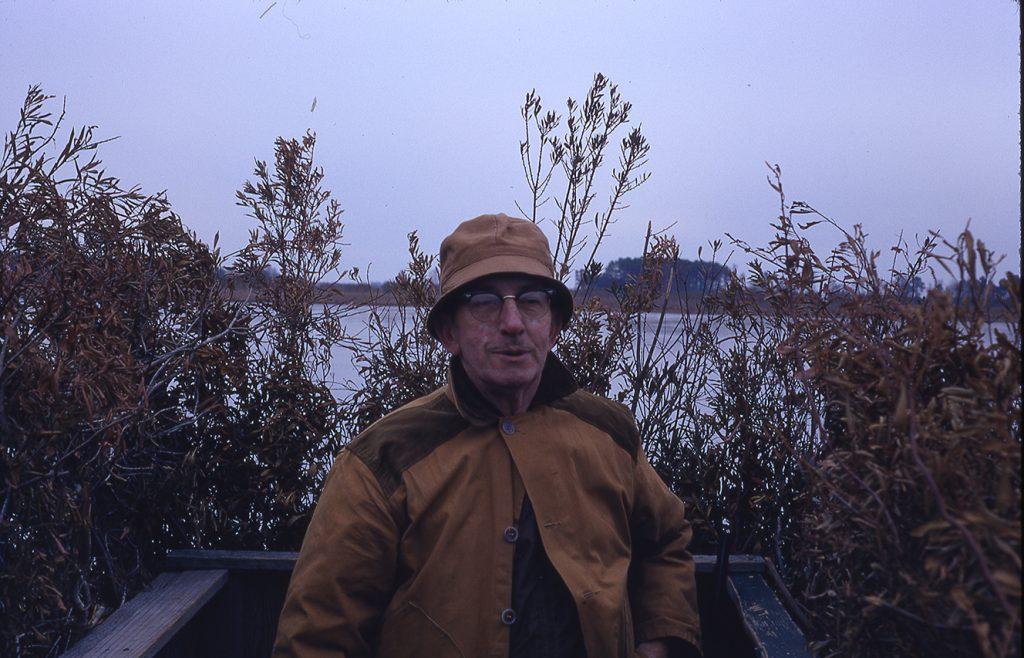 Walter Brand Duck Blind Mattamuskeet 12-29-70