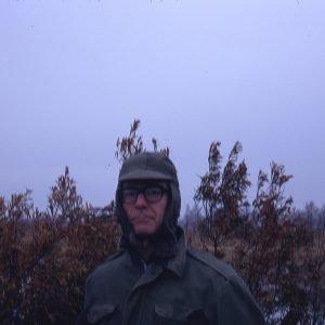 Bill Hinson Duck Blind Mattamuskeet 12-29-70