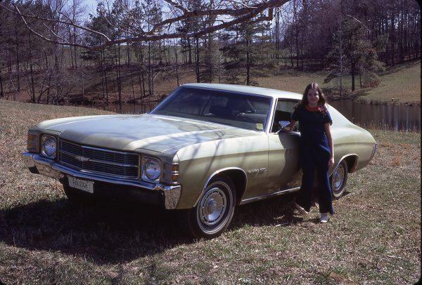 4-11-71 New 1971 Chevelle car