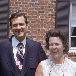portrait of couple April 1972