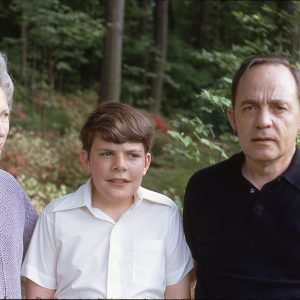 portrait of a family of three 5-13-72