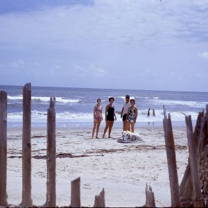 Sandbridge Beach, Virginia Beach, Virginia, August 1972