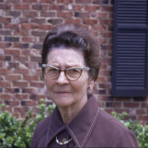 older lady posing, 5-13-73