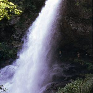 Dry Falls, Macon Co., NC, 8-13-74