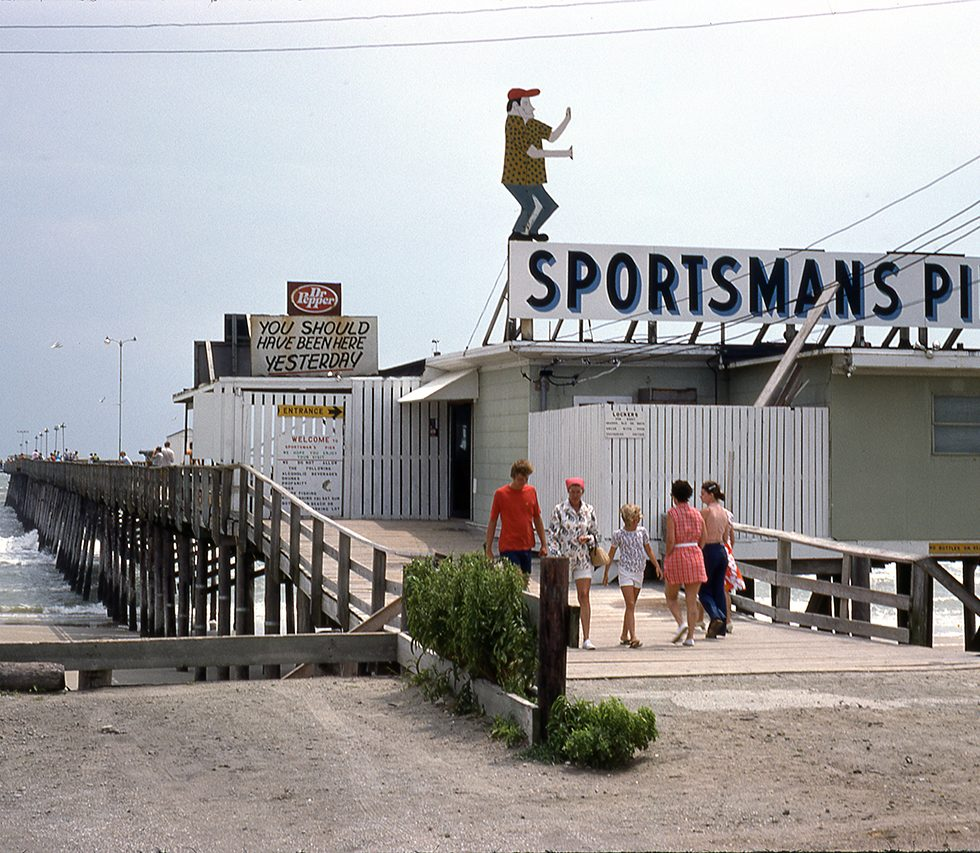 7-10-75 Sportsmans Pier at Atlantic Beach, NC