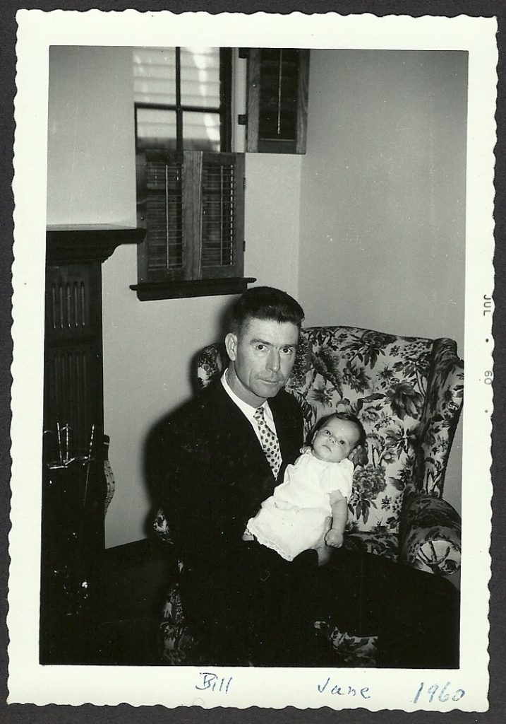 bill and jane as a baby