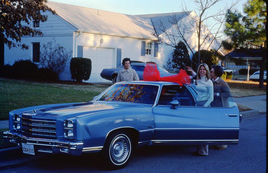 Anne's new Monte Carlo Dec 24, 1976