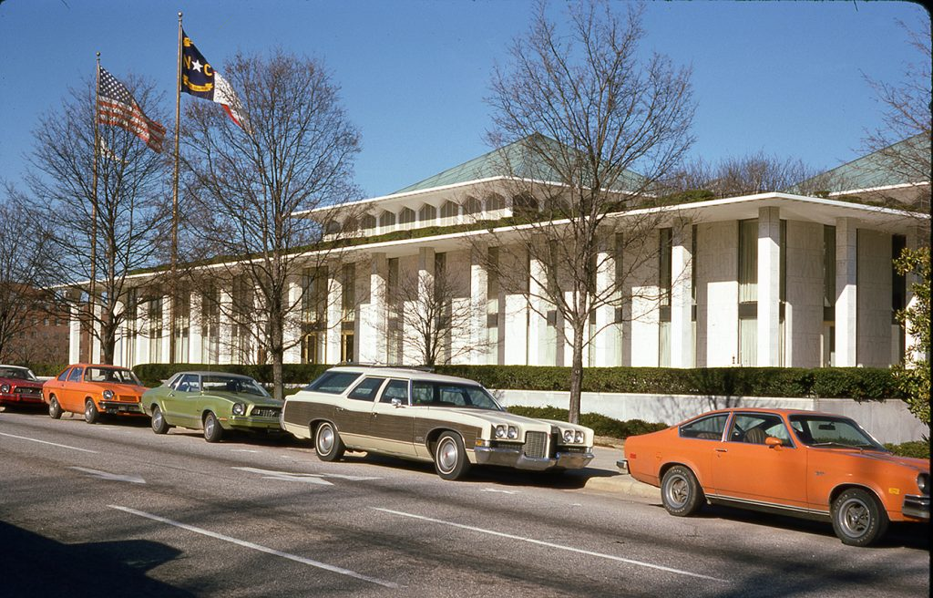 NC Legislative Building Dec 30, 1976