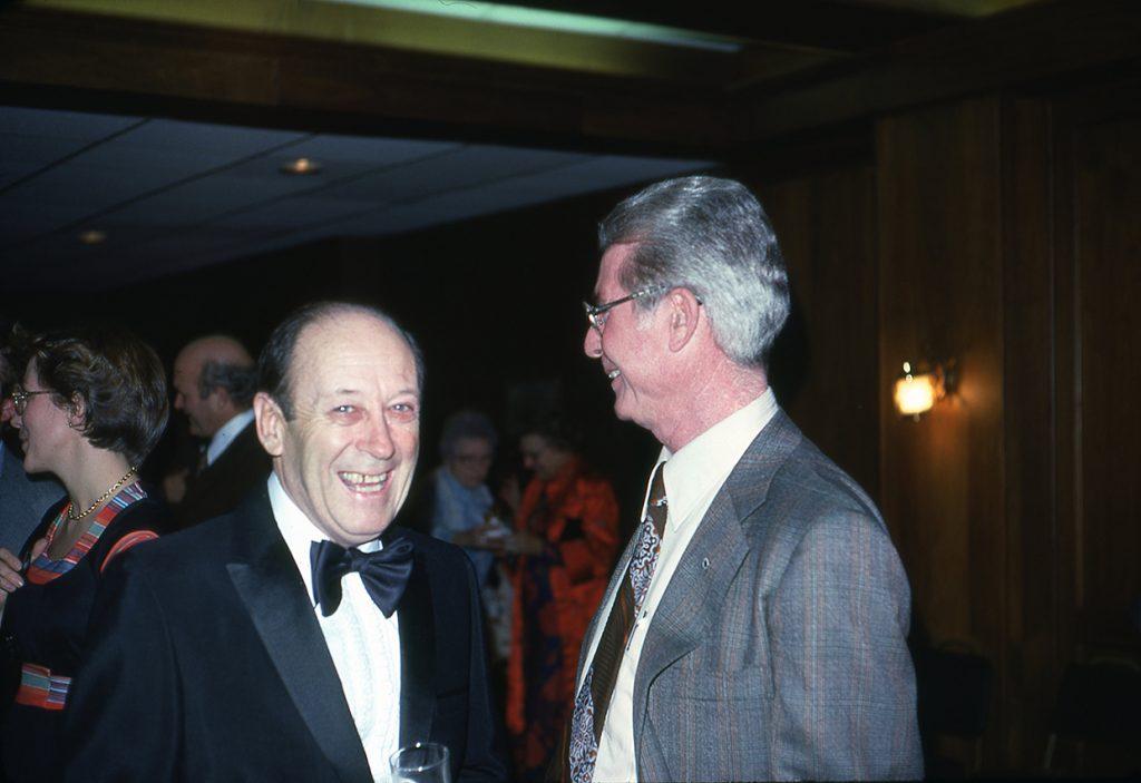 Russ Handy (left) 1-7-77
