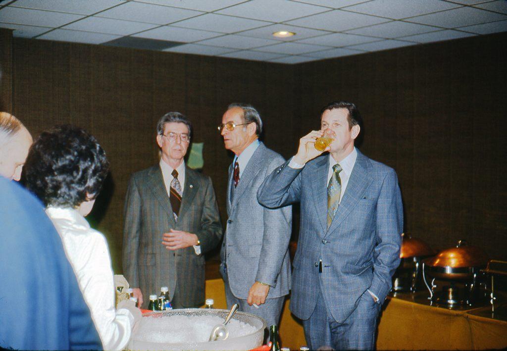 Herndon Wells (center), Ben Massenburg (right)