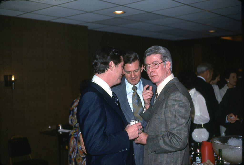 Carl Hinson (left)