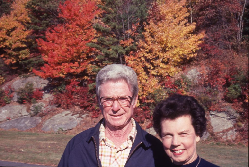 """5 Blue Ridge Pkwy Allegheny Co. Bill and Ruby Hinson 10-20-81"""