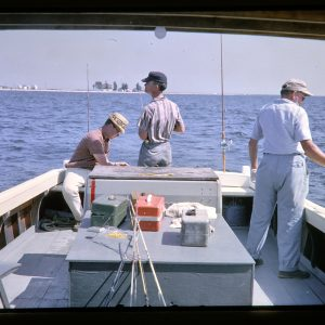 chesapeake bay fishing party 1960s
