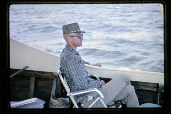 chesapeake bay fishing party 1960s