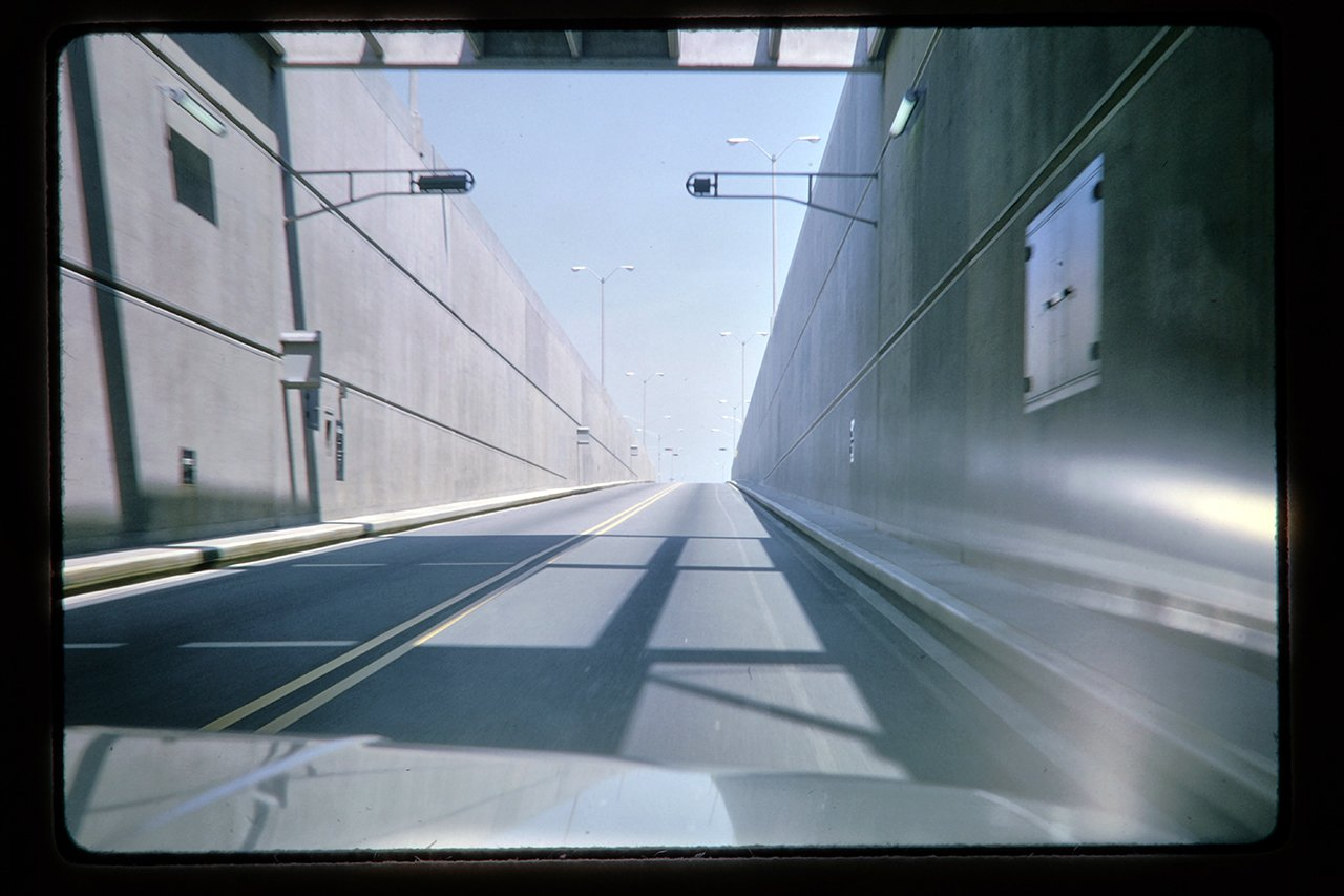 Chesapeake Bay bridge-tunnel, early 1960's