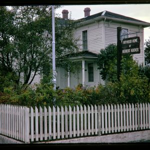 Herbert Hoover's boyhood home, The Hoover-Minthorn House Museum, Newberg, Oregon, c.1966
