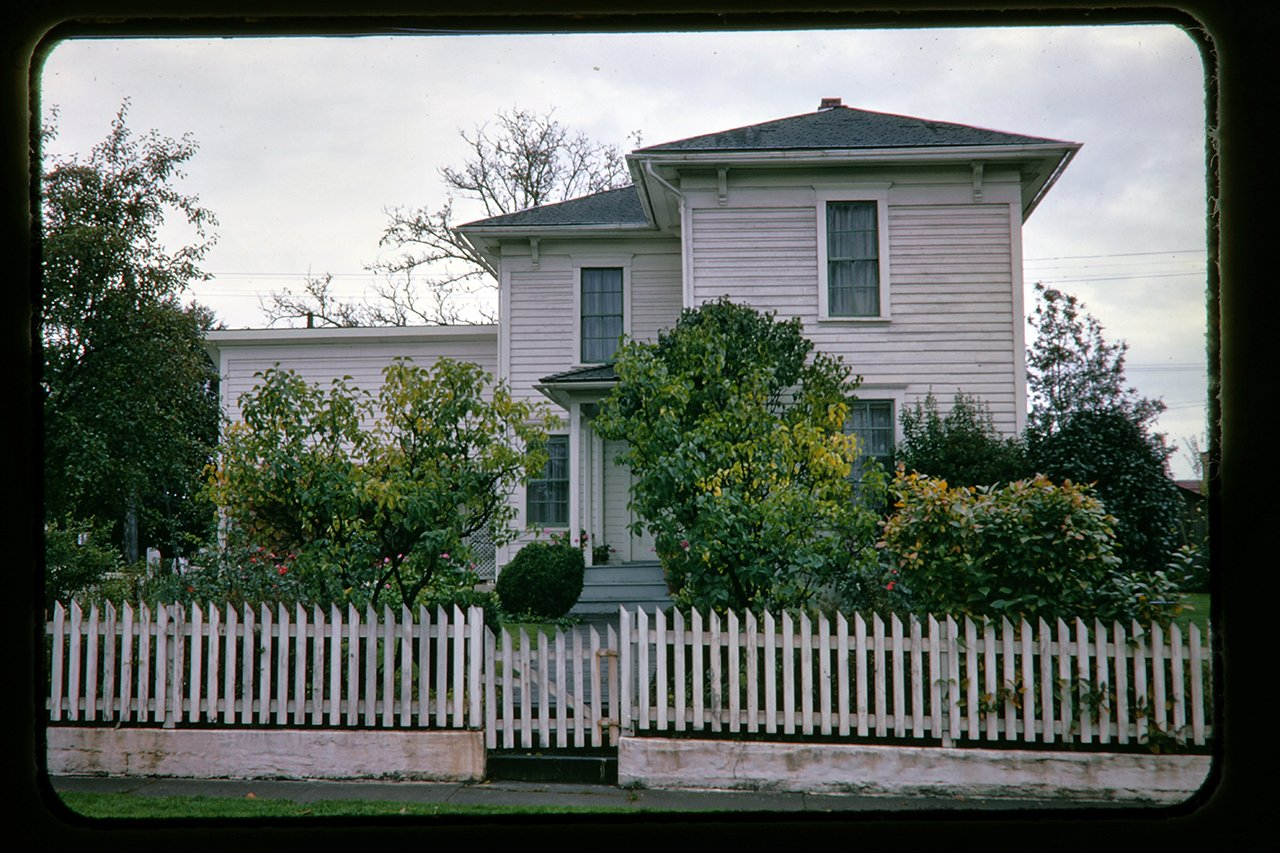The Hoover-Minthorn House Museum, Newberg, Oregon, c.1966